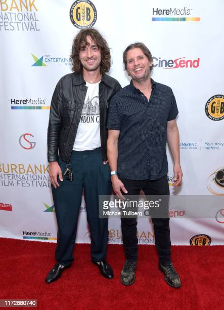 "Brandon Mieske and Jonas Ball attend the premiere of ""Relish"" at the Burbank International Film Festival at AMC Burbank 16 on September 06, 2019 in..."