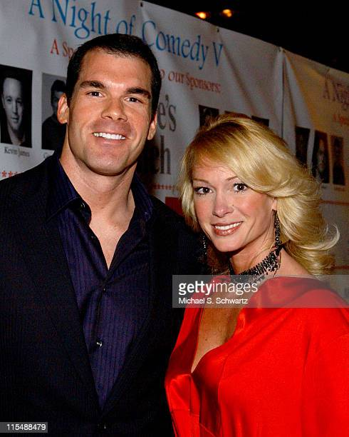 Brandon Molale and Guest during CAAF - A Night of Comedy - April 14, 2007 at The Wilshire Theatre in Beverly Hills, California, United States.