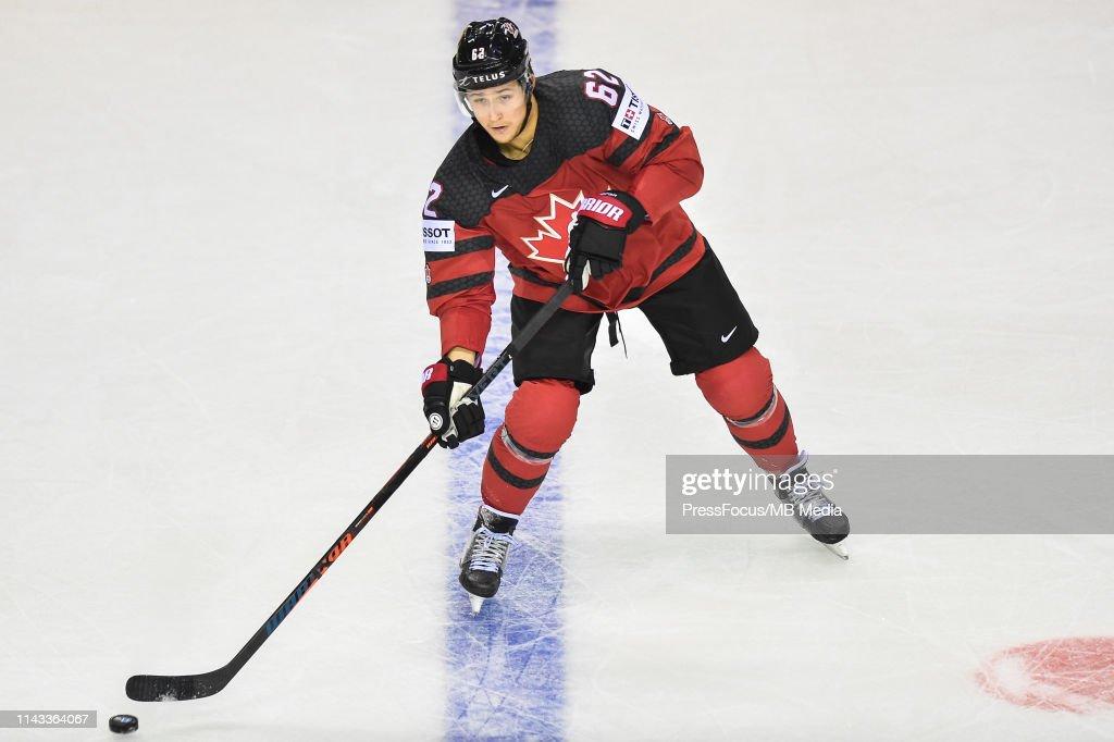Great Britain v Canada: Group A - 2019 IIHF Ice Hockey World Championship Slovakia : News Photo