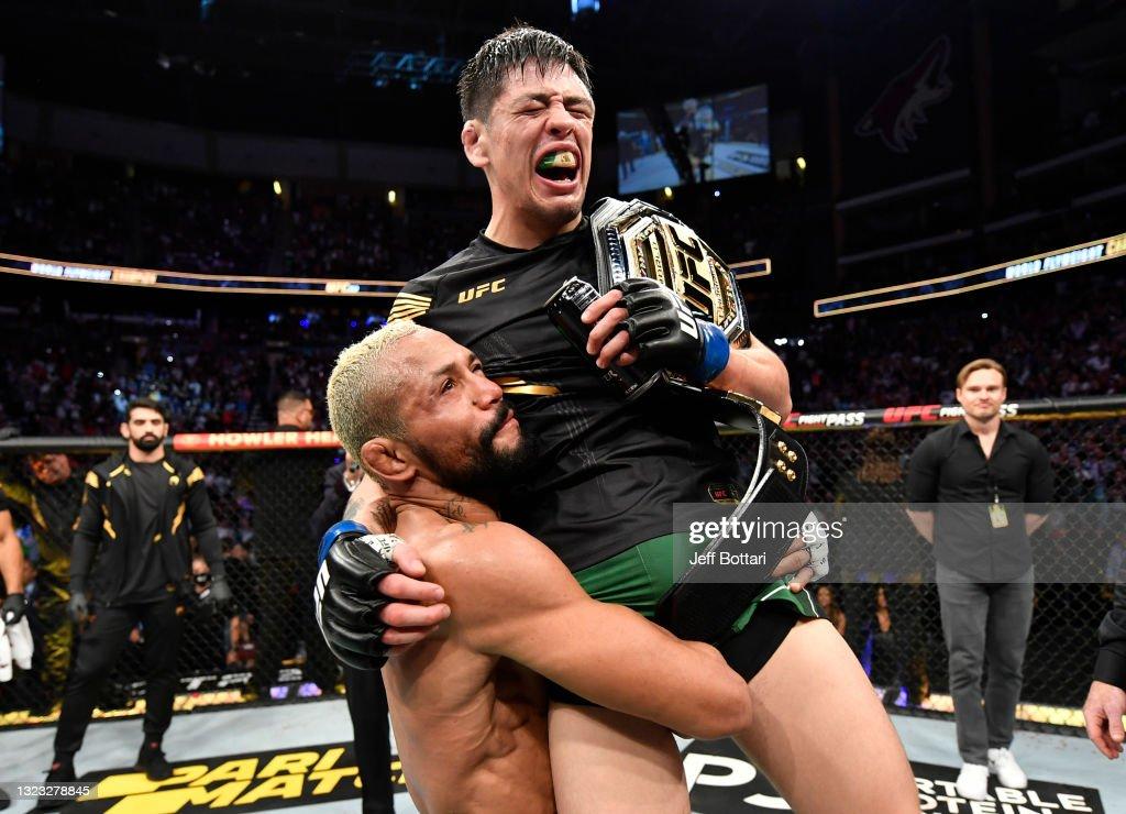 UFC 263: Figueiredo v Moreno 2 : News Photo