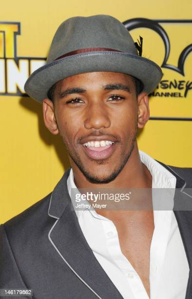 Brandon Mychal Smith attends Disney's 'Let It Shine' Premiere held at Directors Guild Of America on June 5, 2012 in Los Angeles, California.