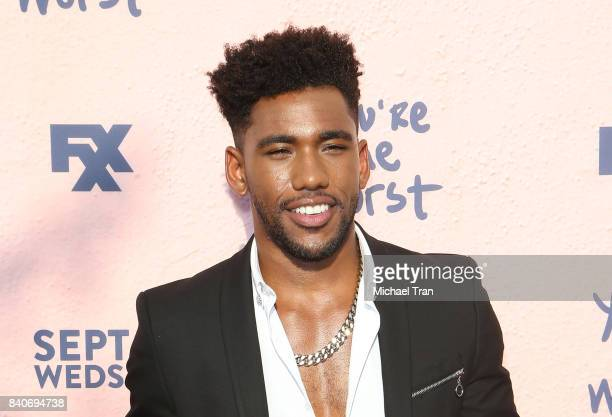 Brandon Mychal Smith attends the Los Angeles premiere of FXX's 'You're The Worst' season 4 held at Museum of Ice Cream LA on August 29 2017 in Los...