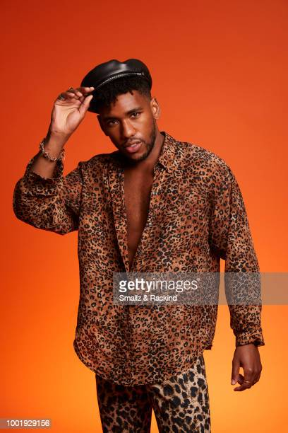 Brandon Mychal Smith from the show 'Rise of the Teenage Mutant Ninja Turtles' poses for a portrait in the Getty Images Portrait Studio powered by...