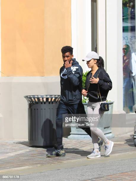 Brandon Mychal Smith is seen on April 09, 2017 in Los Angeles, California.