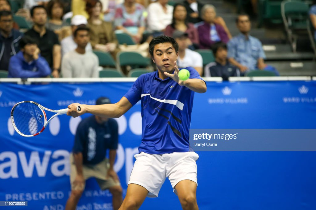 Hawaii Tennis Open : News Photo