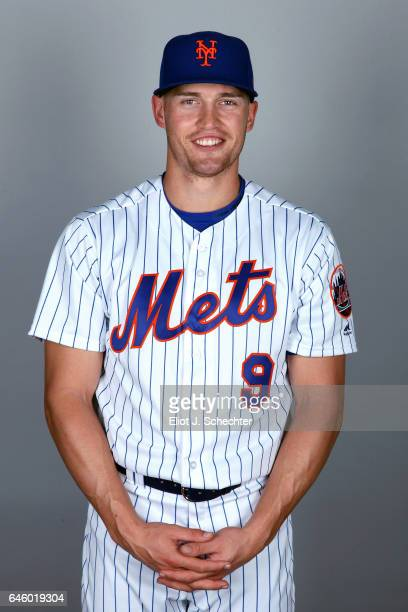Brandon Nimmo of the New York Mets poses during Photo Day on Wednesday February 22 2017 at Tradition Field in Port St Lucie Florida