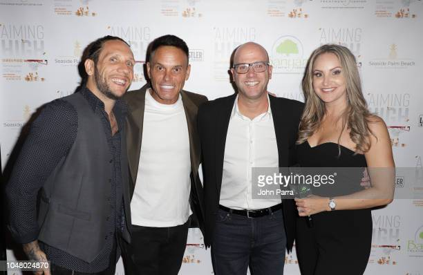 Brandon Novak Kevin Harrington Darren Prince and Allison Seriani attend Celebrity Sports Agent Darren Prince Host Private Event For His New Best...