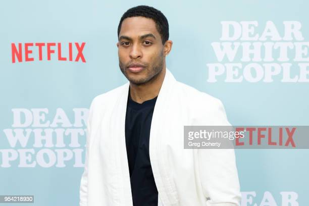 Brandon P Bell attends the Dear White People Season 2 Special Screening on May 2 2018 in Hollywood California