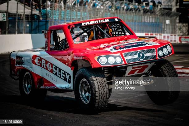 Brandon Parrish making Stadium Super Trucks debut at the 2021 Acura Grand Prix Of Long Beach on September 25, 2021 in Long Beach, California.