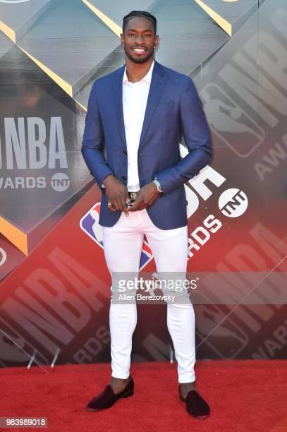 Brandon Paul attends the 2018 NBA Awards Show at Barker Hangar on June 25 2018 in Santa Monica California