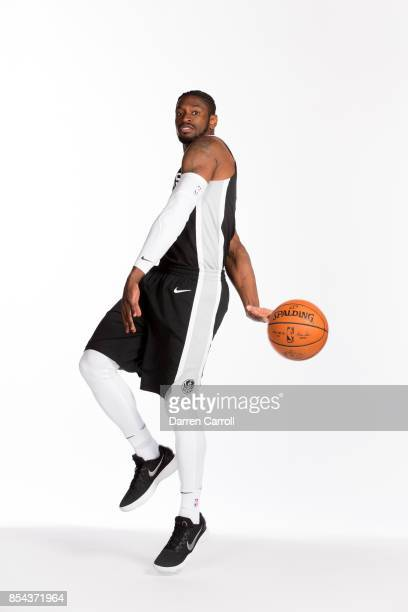 Brandon Paul of the San Antonio Spurs poses for a portrait during Media Day on September 25 2017 at ATT Center in San Antonio Texas NOTE TO USER User...