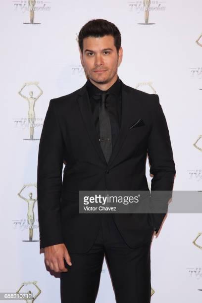 Brandon Peniche attends Premios Tv y Novelas 2017 at Televisa San Angel on March 26 2017 in Mexico City Mexico