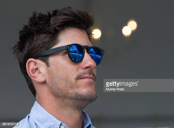 Brandon Phillips at International Polo Club Palm Beach on January 16 2017 in Wellington Florida