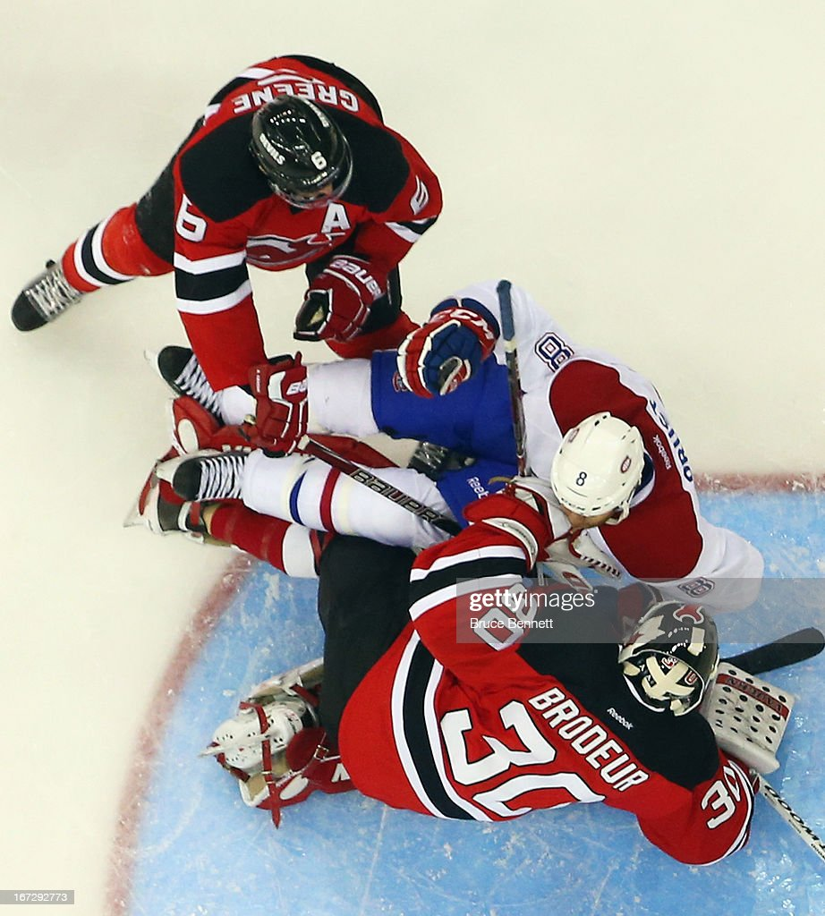Montreal Canadiens v New Jersey Devils : News Photo