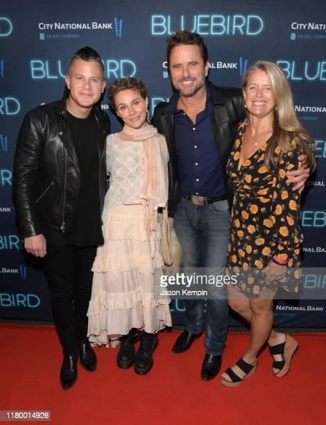 Brandon Robert Young Clare Bowen Charles Esten and Patty Hanson attend the 2019 Nashville Film Festival Bluebird Screening on October 08 2019 in...