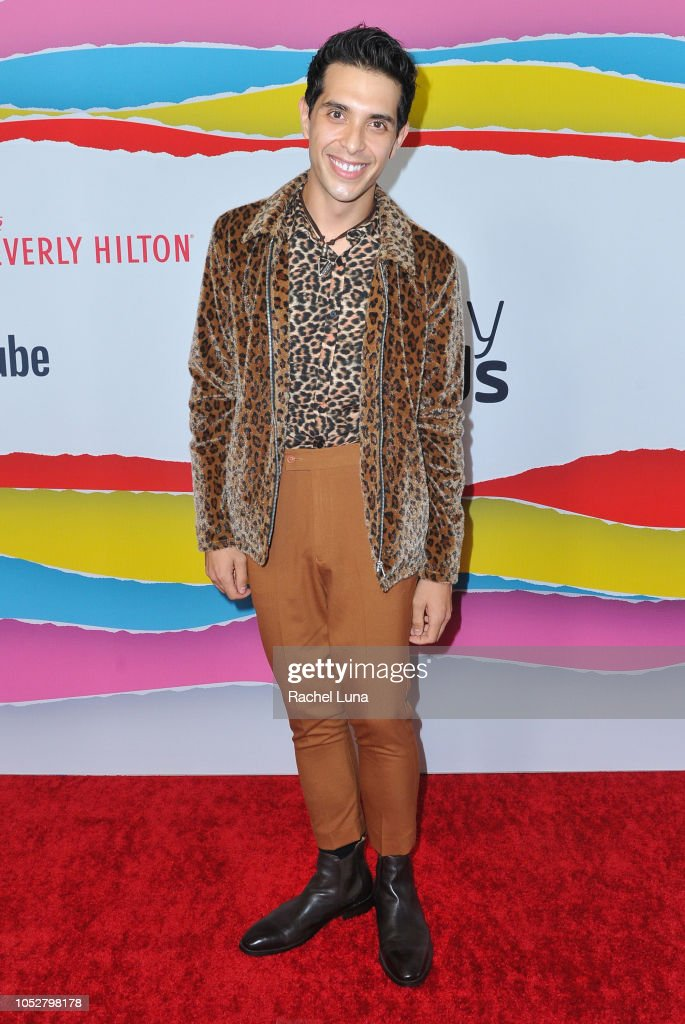 Brandon Rogers attends the Streamy Awards at The Beverly