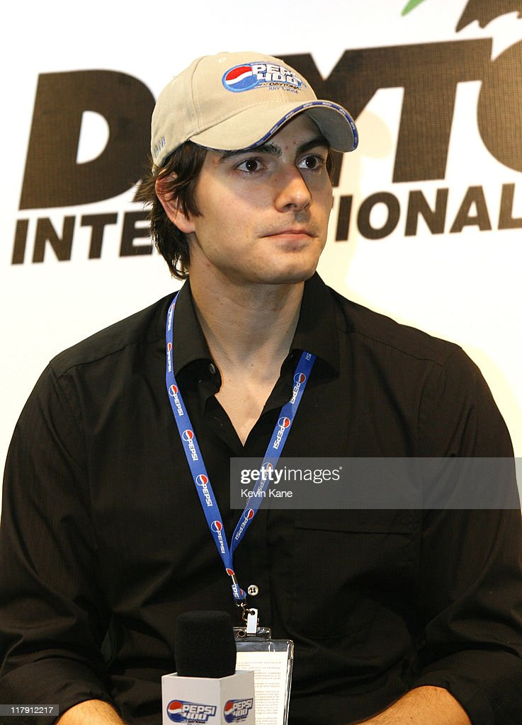 NASCAR - Nextel Cup - 2006 Pepsi 400 - Brandon Routh Press Conference - July 1, 2006 : News Photo