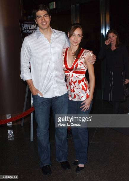 Brandon Routh and Courtney Ford at the The Director's Guild Theater in West Hollywood CA