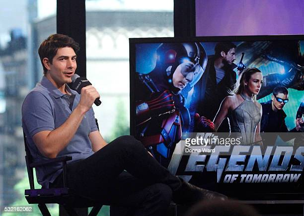 Brandon Routh appears to promote Legends of Tomorrow during the AOL BUILD Seriesat AOL on May 18 2016 in New York City