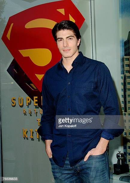 Brandon Routh at the Kate Bosworth and Brandon Routh Visit Kitson to Promote Superman Returns May 1 2006 at Kitson in Beverly Hills California