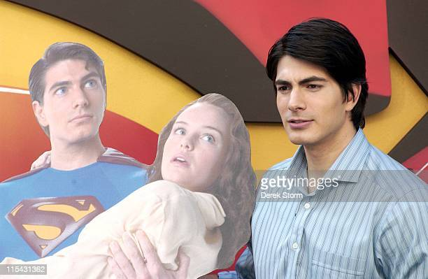 Brandon Routh during Brandon Routh Appears on the Today Show June 20 2006 at Today Show Studios in New York City New York United States