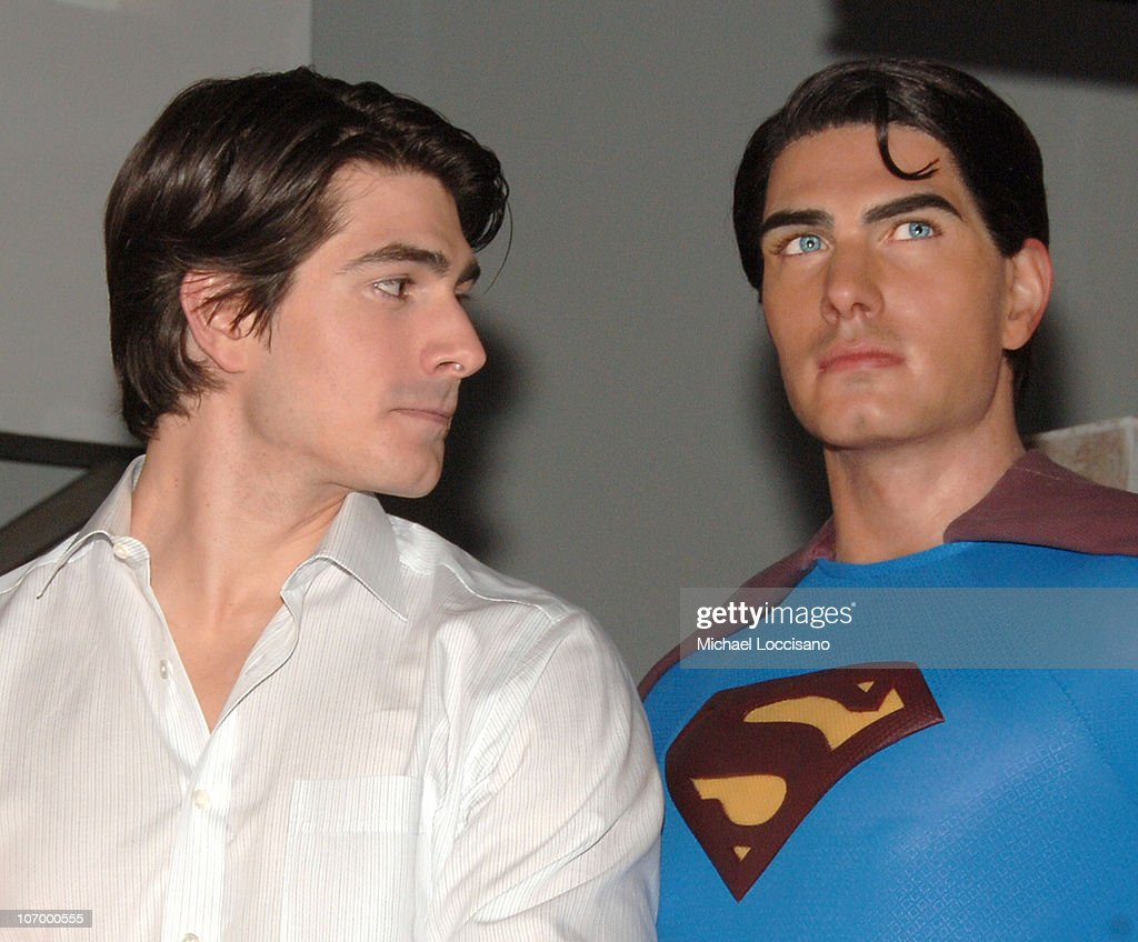"Brandon Routh Launches the New Wax Figure of Superman from ""Superman Returns"" - June 27, 2006 : News Photo"