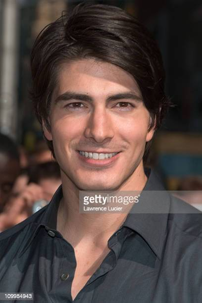 Brandon Routh during Brittany Murphy and Brandon Routh Stop By ''The Late Show With David Letterman'' June 20 2006 at Ed Sullivan Theater in New York...
