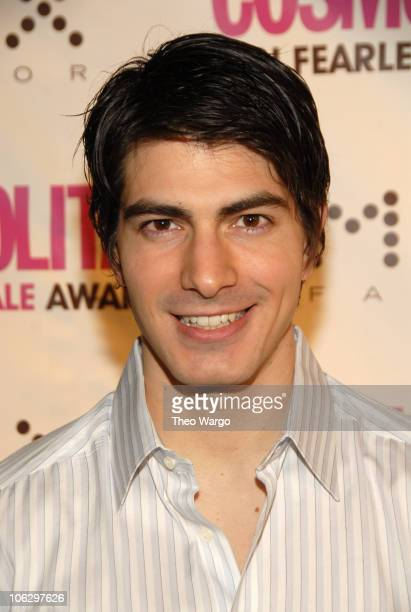 Brandon Routh during Cosmopolitan Magazine Honors Nick Lachey as Fun Fearless Man of the Year at Cipriani in New York City New York United States
