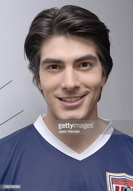 Brandon Routh during Kate Bosworth Brandon Routh and Rosario Dawson Visit MTV's TRL June 28 2006 at MTV Studios in New York City New York United...