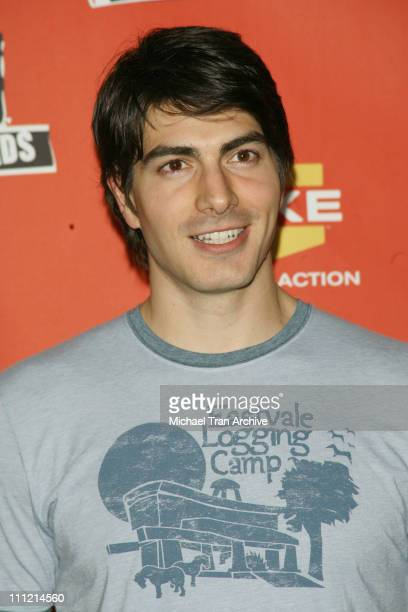 Brandon Routh during Spike TV's 2006 Video Game Awards Press Room at Galen Center in Los Angeles CA United States