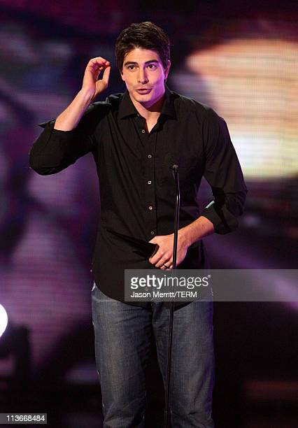 Brandon Routh during Spike TV's 'Scream Awards 2006' Show at Pantages Theater in Hollywood California United States