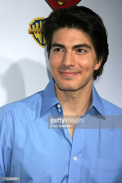 Brandon Routh during Superman Returns DVD and Video Game Launch Party Arrivals at Social Hollywood in Los Angeles CA United States