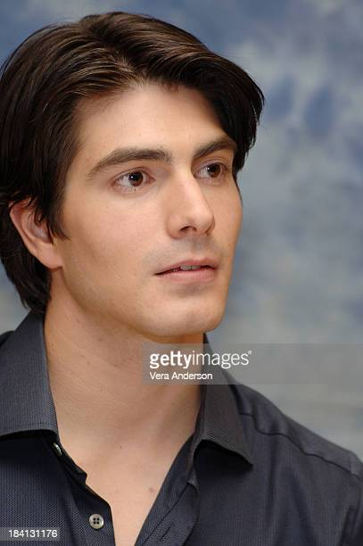 Brandon Routh during Superman Returns Press Conference with Bryan Singer Brandon Routh Kate Bosworth Kevin Spacey and Eva Marie Saint at Century...