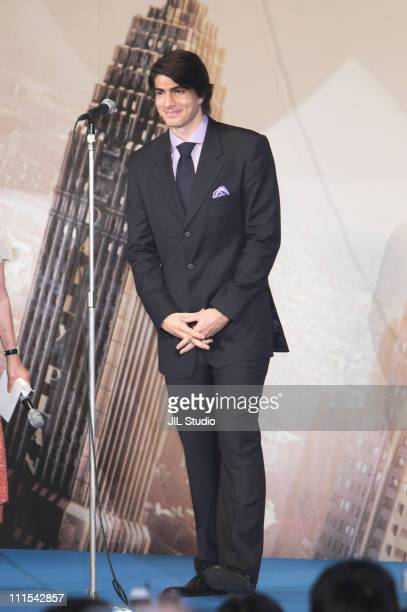 Brandon Routh during 'Superman Returns' Tokyo Premiere Stage Greeting at Roppongi Hills Arena in Tokyo Japan