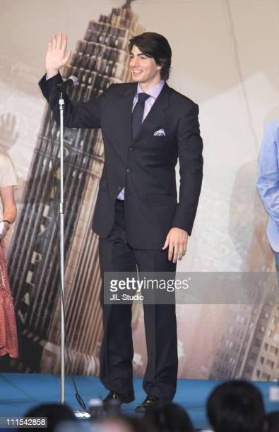 Brandon Routh during Superman Returns Tokyo Premiere Stage Greeting at Roppongi Hills Arena in Tokyo Japan