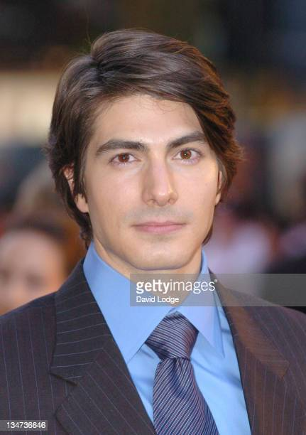Brandon Routh during Superman Returns UK Premiere Outside Arrivals at Odeon Leicester Square in London Great Britain