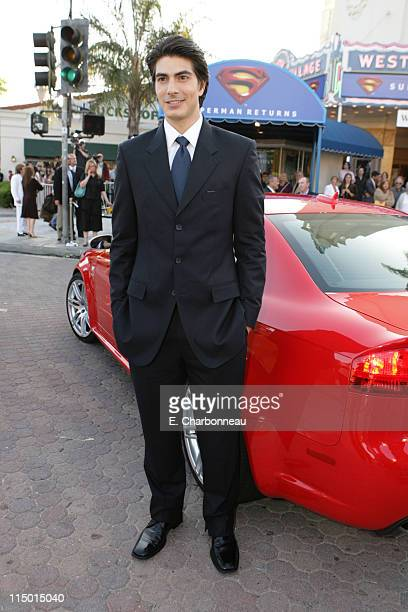Brandon Routh during Warner Bros World Premiere of 'Superman Returns' at Village and Bruin Theatre in Westwood California United States