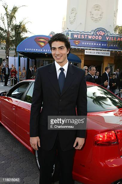 """Brandon Routh during Warner Bros. World Premiere of """"Superman Returns"""" at Village and Bruin Theatre in Westwood, California, United States."""