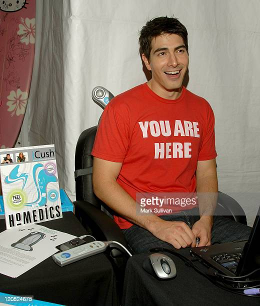 Brandon Routh in My Scene Fab Faces Dolls Celebrity Retreat Produced by Backstage Creations at the 2006 Teen Choice Awards
