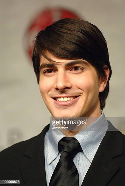 Brandon Routh Male Star of Tomorrow during 2006 ShoWest Awards Ceremony Press Room at Paris Las Vegas in Las Vegas Nevada
