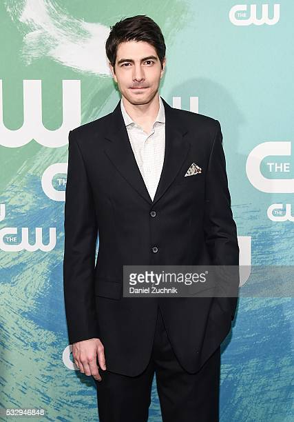 Brandon Routh of the series 'DC's Legends of Tomorrow' attends The CW Network's 2016 New York Upfront at The London Hotel on May 19 2016 in New York...