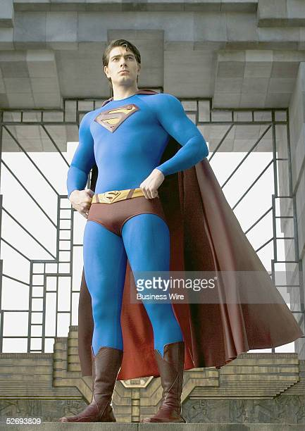 Brandon Routh stars as Superman in Warner Bros Pictures' Superman Returns which will be released on June 30 2006