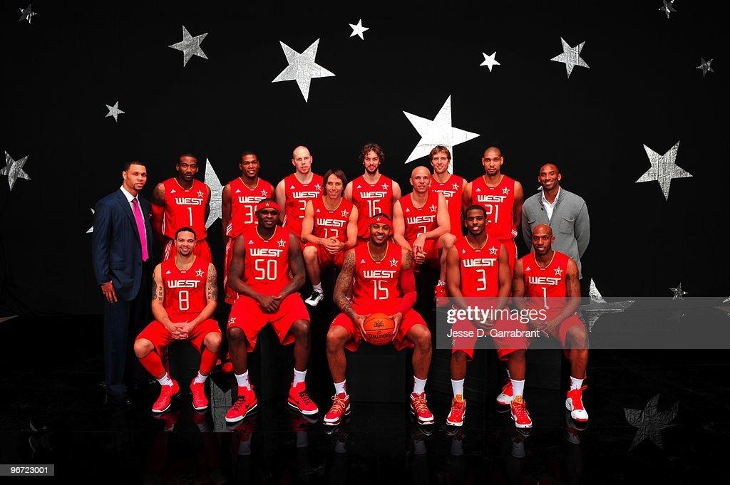 All-Star Game Portraits : News Photo