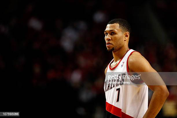 Brandon Roy of the Portland Trail Blazers against the Orlando Magic on December 9 2010 at the Rose Garden in Portland Oregon NOTE TO USER User...