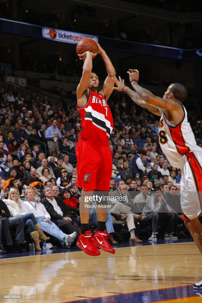 Golden State Warriors v Portland Trailblazers : News Photo