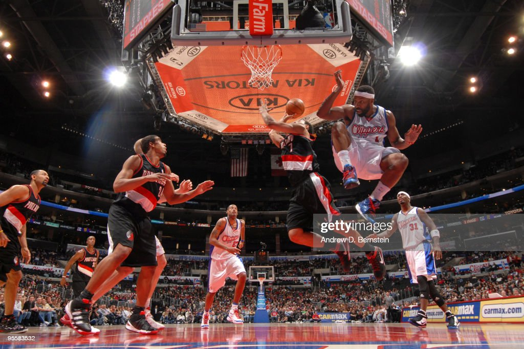Portland Trail Blazers v Los Angeles Clippers : News Photo