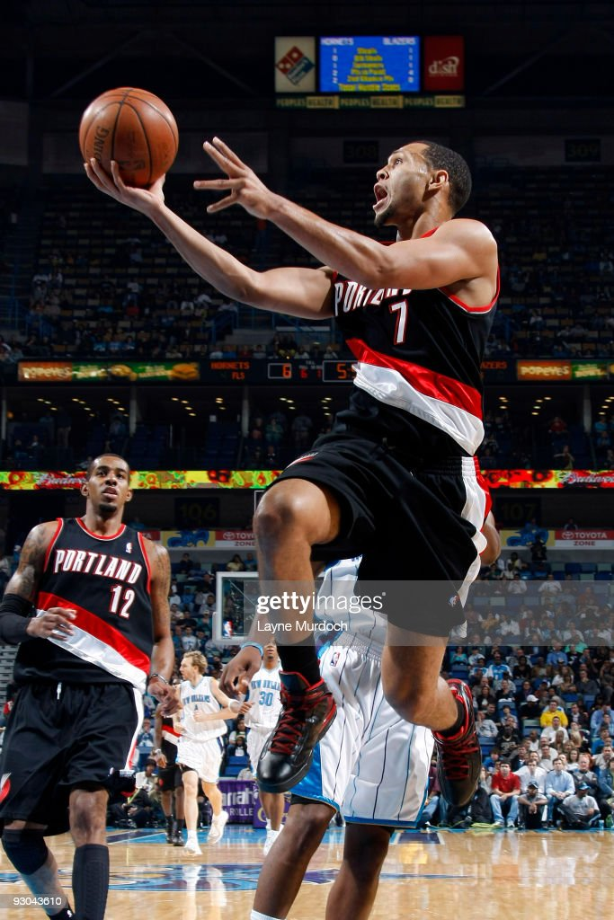 Portland Trail Blazers v New Orleans Hornets