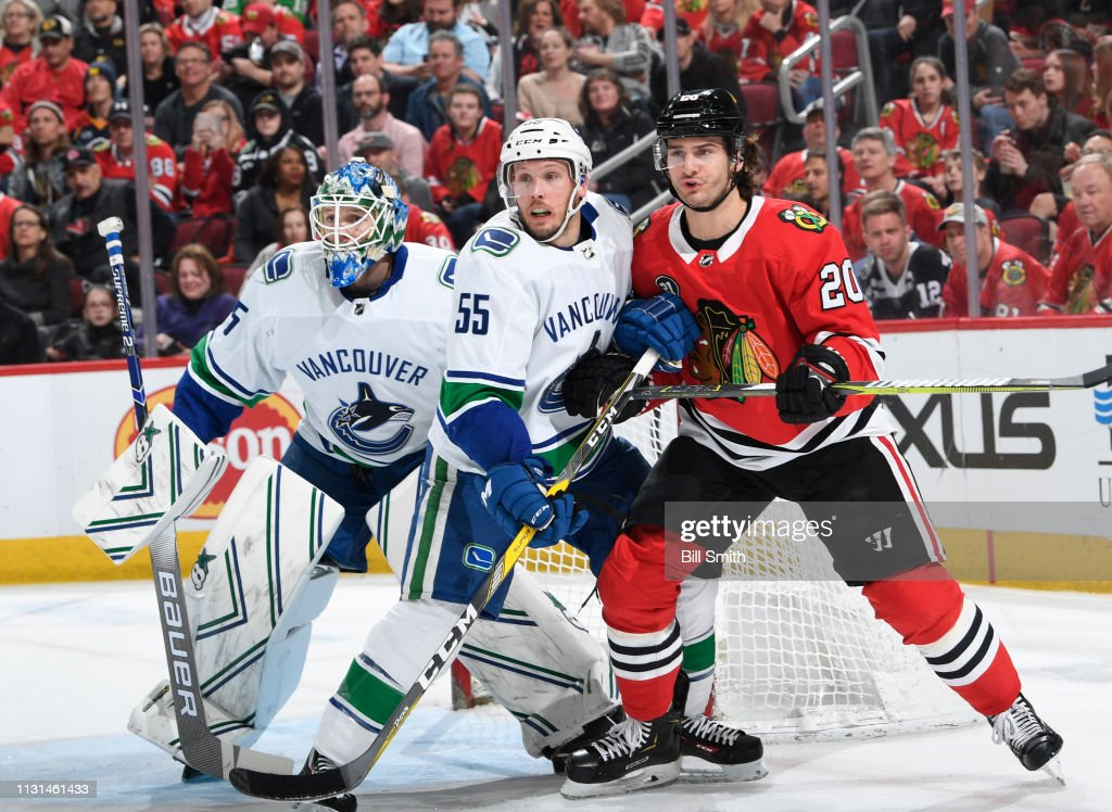 IL: Vancouver Canucks v Chicago Blackhawks
