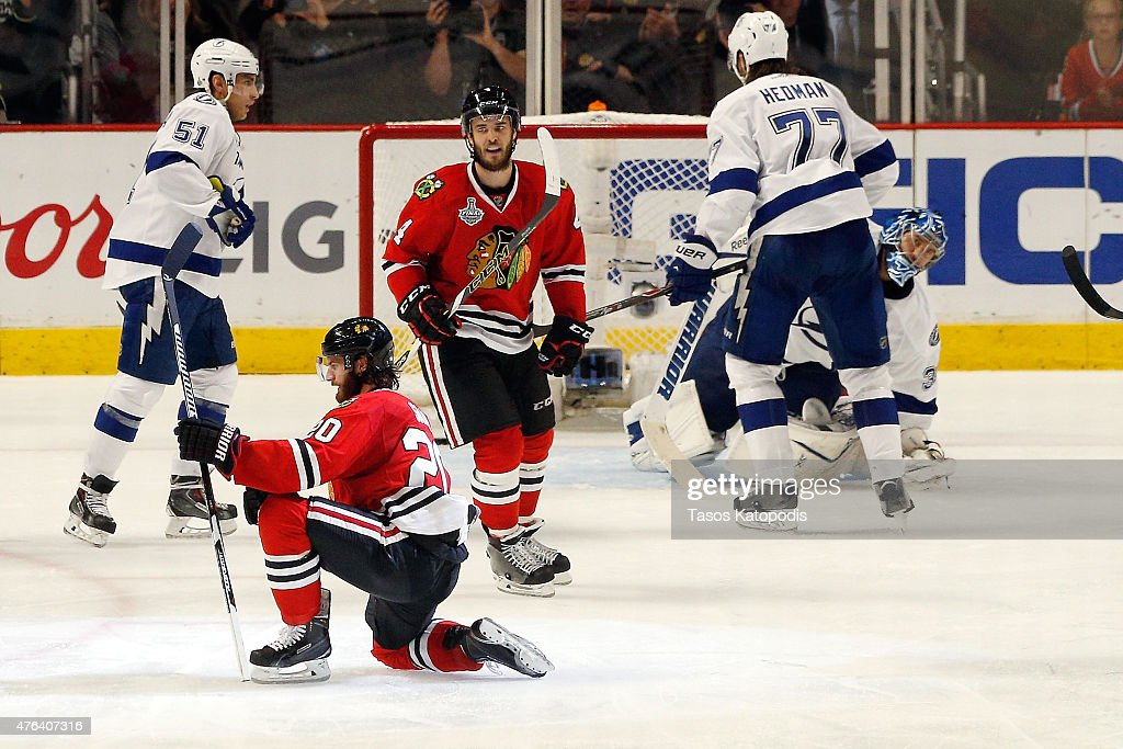 2015 NHL Stanley Cup Final - Game Three : News Photo