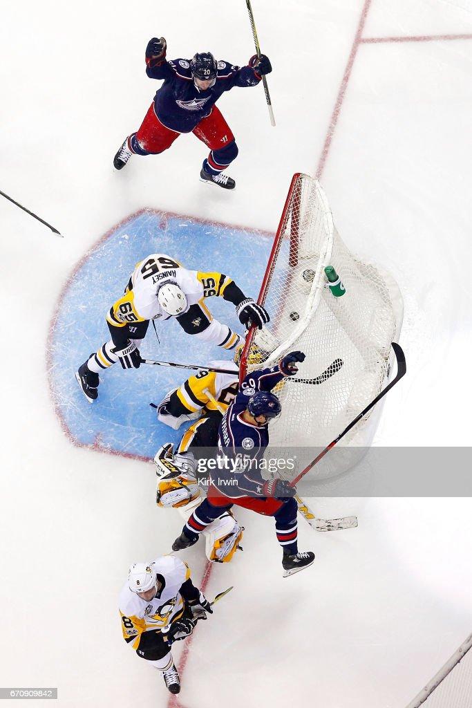 Pittsburgh Penguins v Columbus Blue Jackets - Game Four